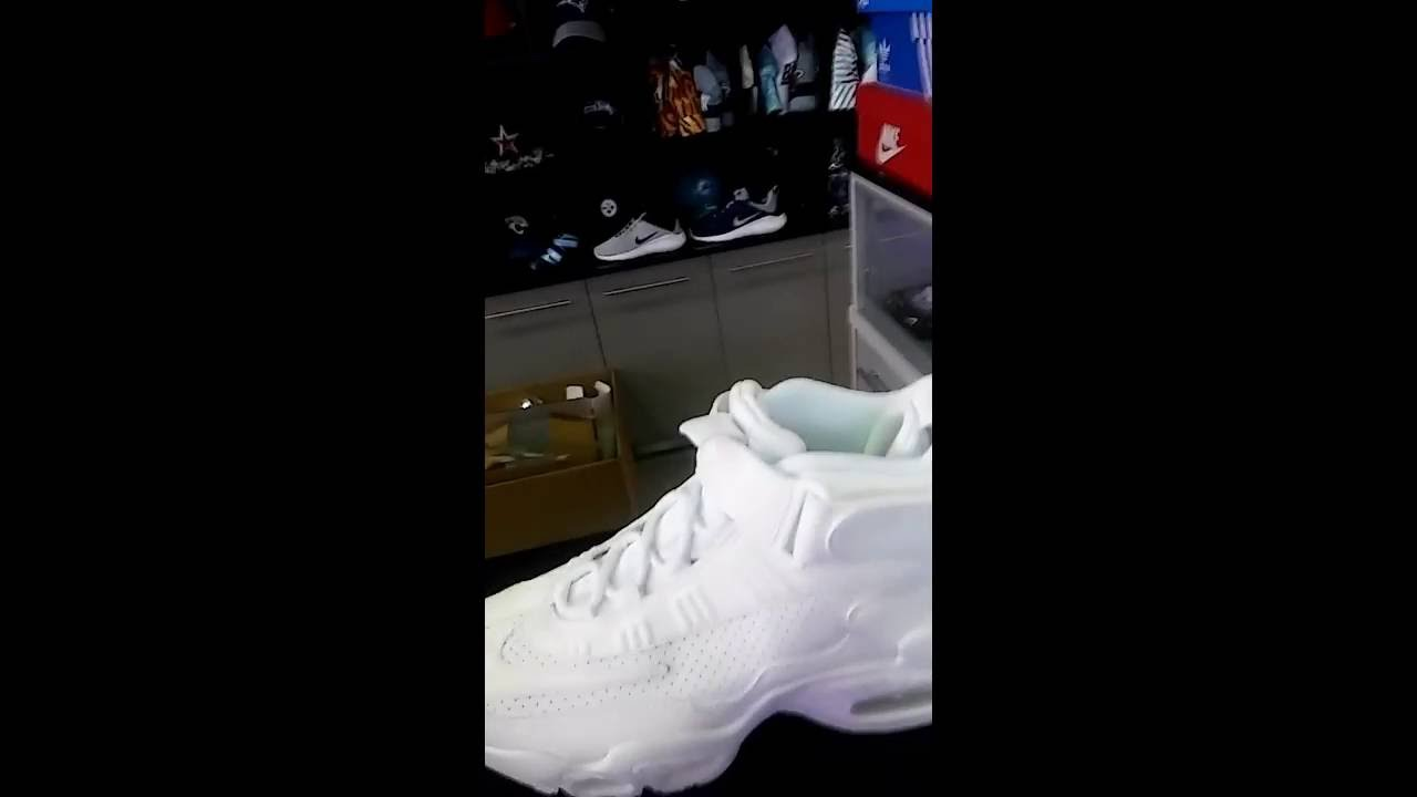 All white Griffey max 1 - YouTube a05a0503f
