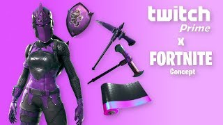 Twitch Prime Pack #3 PAS RELEASING (fr) Mise à jour Fortnite