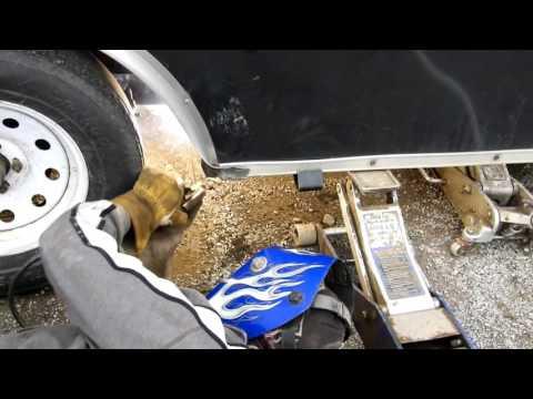 Major trailer repair!!!  Lesson Learned
