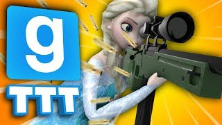 WHY WON'T YOU STOP SHOOTING?! | Gmod TTT