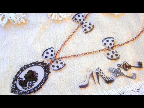 Bijoux en plastique dingue youtube - Boite a bijoux pour collier ...