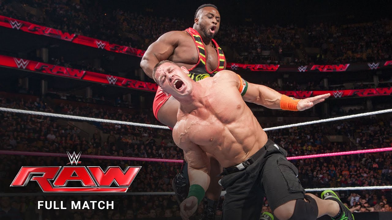 FULL MATCH - John Cena vs. Big E - United States Title Match: Raw, October 5, 2015