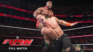 FULL MATCH - John Cena vs. Big E - United States Title Match: Raw, October 5, 2015