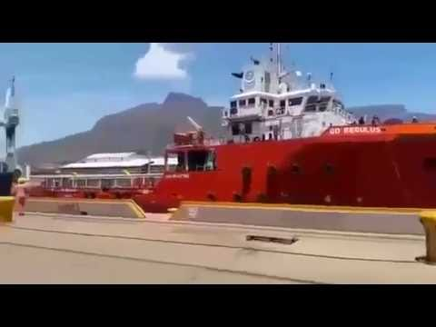 Cape Town dry dock accident