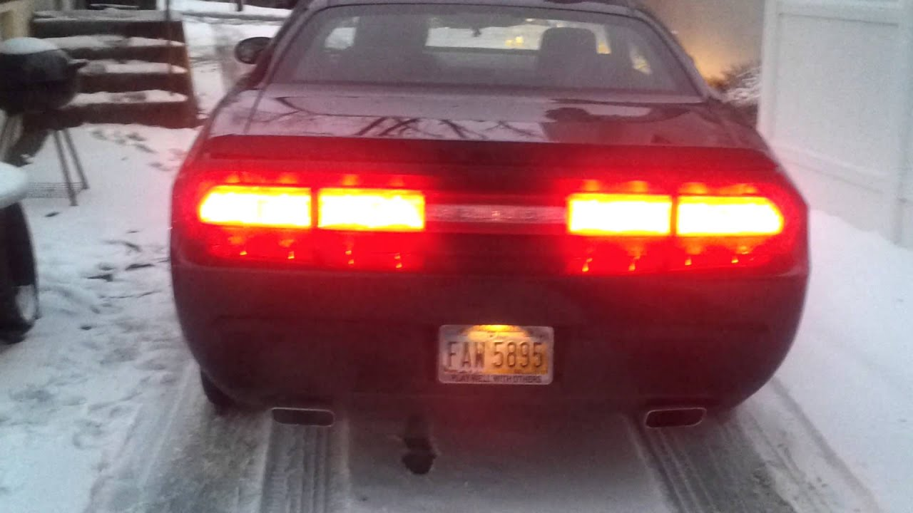 Dodge Challenger Sequential Tail Lights Youtube