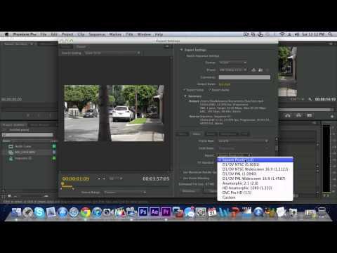 Best Export Settings In Premiere Pro CS6