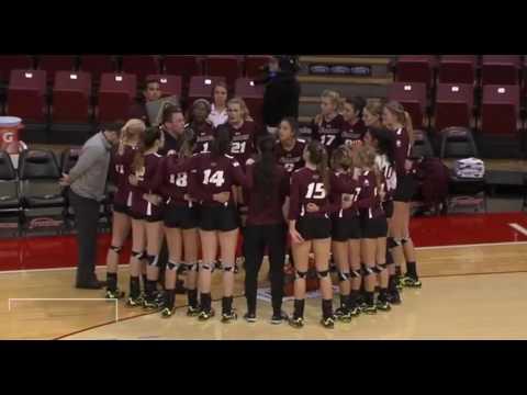Southern Illinois vs Illinois State volleyball 2016