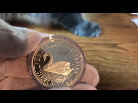 2017 Silver Proof swan unboxing perth mint