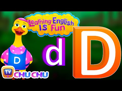 "Thumbnail: Learning English Is Fun™ | Alphabet ""D"" 