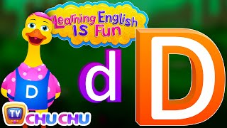 "Learning English Is Fun™ | Alphabet ""D"" 