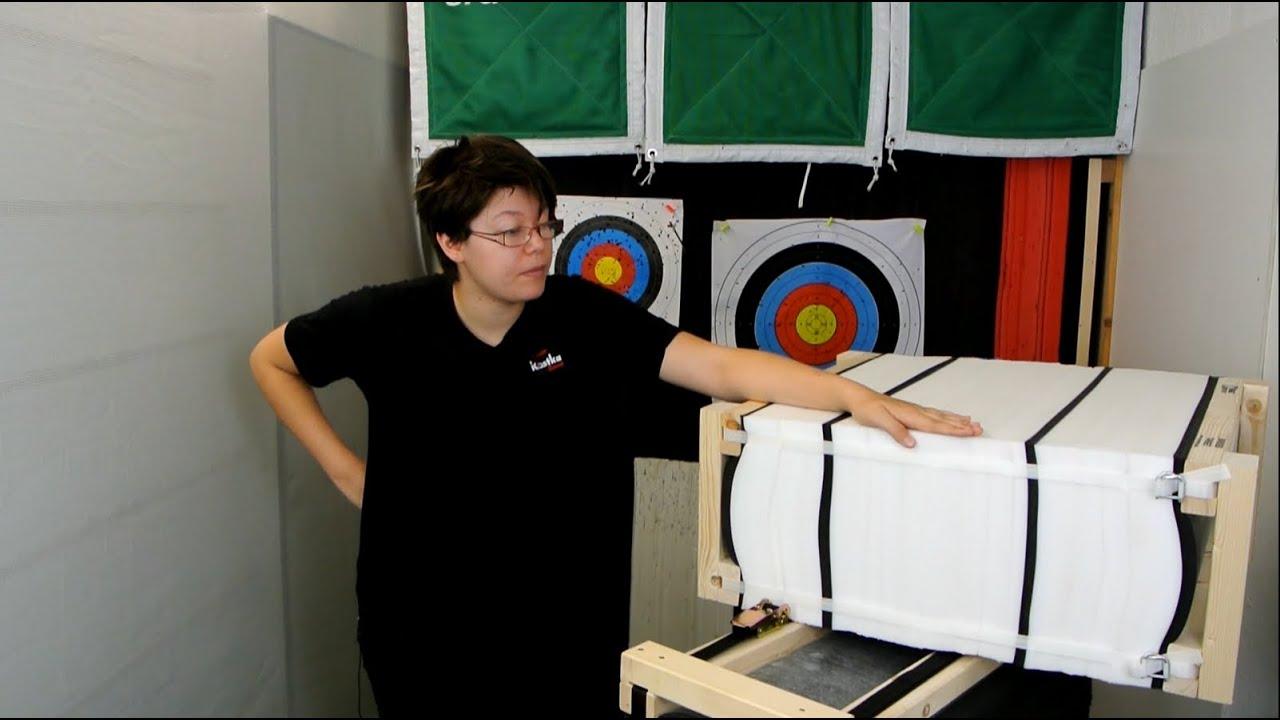 Kim erklärt: Lamellenzielscheiben - die vielleicht besten Bogensportzielscheiben der Welt