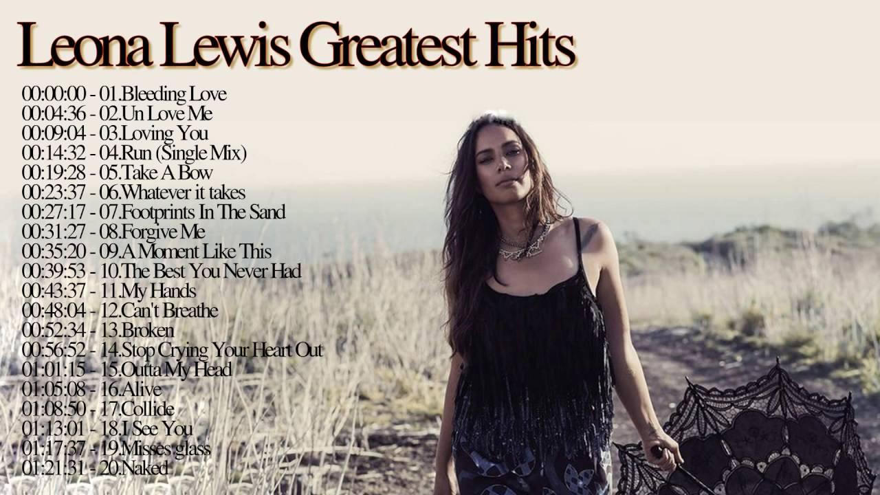 Leona Lewis Greatest Hits Leona Lewis -- Top Song HD2016 - YouTube