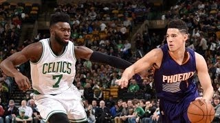 Phoenix Suns vs Boston Celtics - Full Game Highlights | March 24, 2017 | 2016- 17 NBA Season