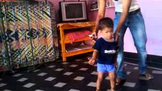 YASH Dancing At MY HOME In Kollapur
