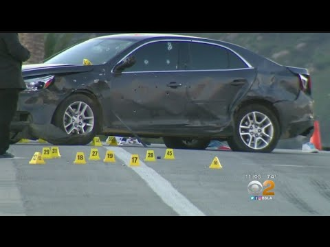 Car Chase Suspect Survives Barrage Of Bullets In Fontana