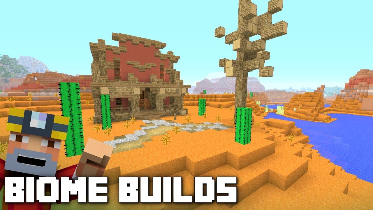 Minecraft Xbox One: Biome Builds! (Episode 12 - Mesa)