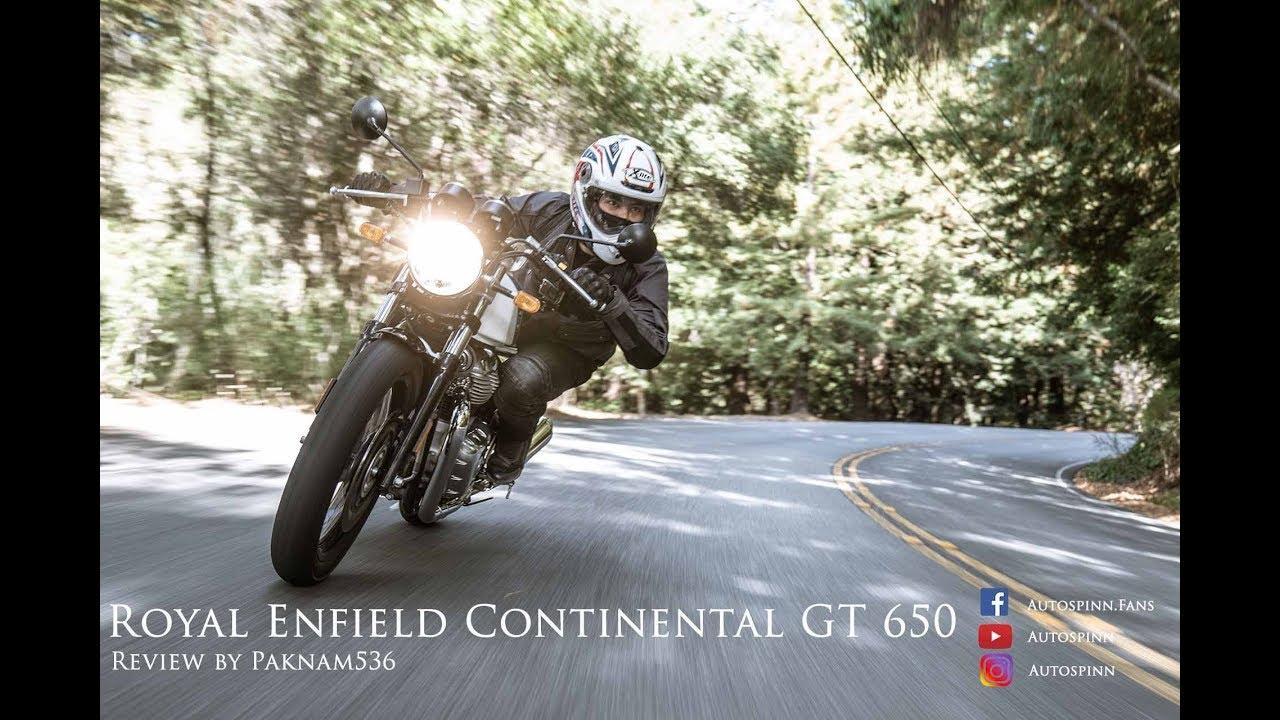 [VDO Test] รีวิว Royal Enfield Continental GT650 รูปแบบวิดีโอ มาแล้ว