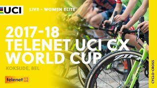 Women Elite - 2017-18 Telenet UCI Cyclo-cross World Cup – Koksijde (BEL)