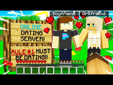 I Brought GOLD DIGGER To A ONLINE DATING Minecraft Server!