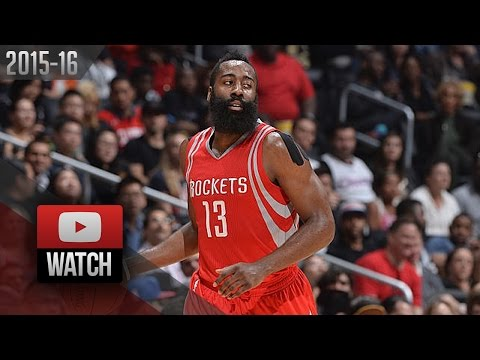 James Harden Full Highlights at Clippers (2015.11.07) - 46 Pts, UNREAL!