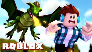 ROBLOX-ESCAPE from the DRAGON!!