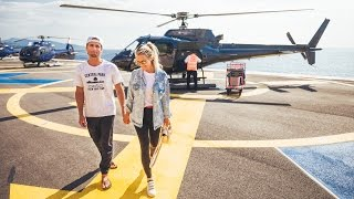 HELICOPTER TAXI FROM NICE TO MONACO | VLOG 140