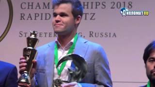 Magnus Carlsen wins the World Blitz Championship