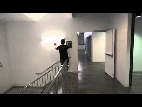 Raw Footage - David Choe taking a stroll around Facebook HQ with some paint