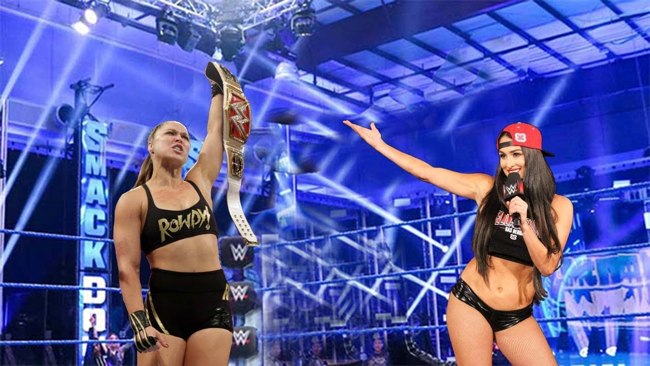 Ronda Rousey vs Brie Bella : IRON women's Full Match