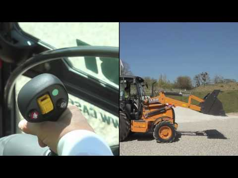 Asia Pacific: Close Up To Case - 5th Backhoe Loader Clip