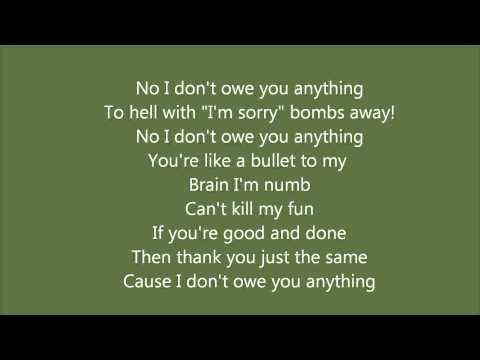 Dear Blank  Hedley lyrics