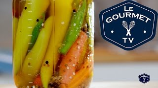 Quick' Pickled Hot Peppers Recipe - Legourmettv