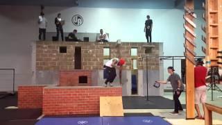 Urban acrobatics competition runs