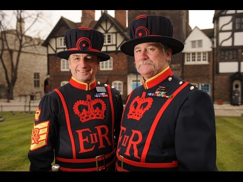 INSIDE TOWER OF LONDON - PART 1 OF THE YEOMAN WARDER TOUR