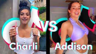Charli D'Amelio vs Addison Rae TikTok Dance Compilation