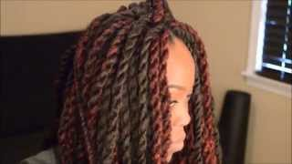 Crotchet Braid Twists! (Natural Hair Tutorial/How-To)