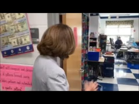 WATCH NOW: First Lady Northam visits Schoolfield Elementary School