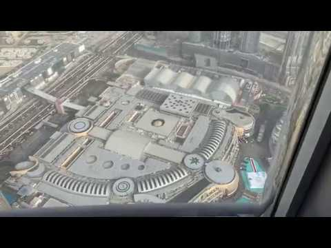 "[video] View Dubai From """"burj Khalifa"""