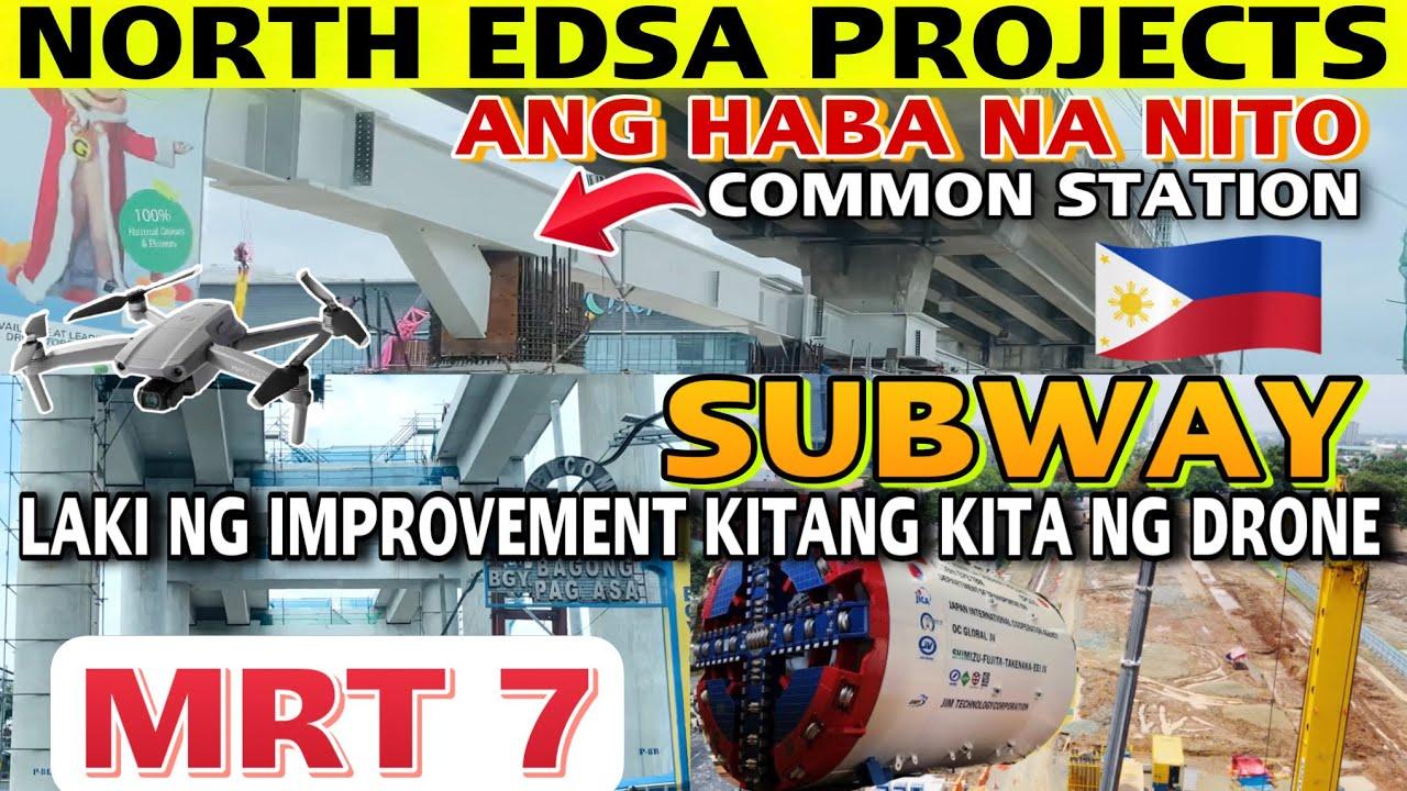 HETO 3 STATIONS SUBWAY MRT7 COMMON | METRO MANILA SUBWAY MRT 7 LRT1 UNIFIED GRAND CENTRAL STATION