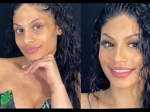Flawless makeup look.