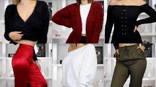 HUGE FALL FASHION NOVA TRY-ON HAUL | BEAUTYYBIRD