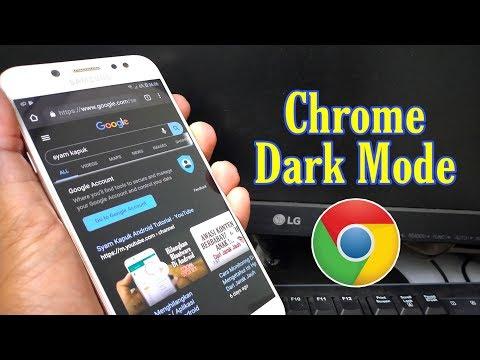 Cara Mengaktifkan DARK MODE ( Tema Gelap ) Di Aplikasi Chrome