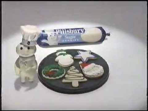 Pillsbury Holiday Cookies Commercial 1982 Doovi