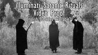 Devil Worship recorded on hidden spy camera and cctv, illuminati - real eyes thumbnail