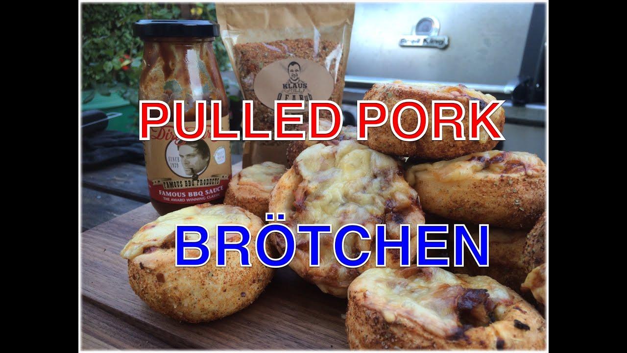 Pulled Pork Gasgrill Klaus Grillt : Gefüllte pulled pork brötchen vom grill klaus grillt