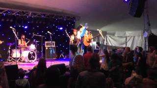"Tom Mason and the Blue Buccaneers ""Pirate Song"" at Port Fairy Folk Festival"