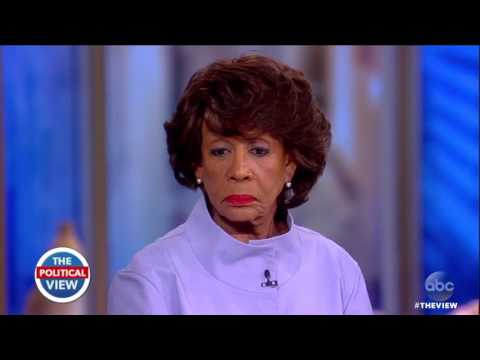 """#Resistance Leader Maxine Waters Says She Is """"So Glad"""" Confidential Information Is Being Leaked"""