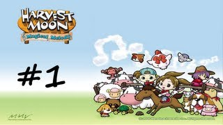 Harvest Moon: Magical Melody ♫  Part 1 ♫ Welcome to Flowerbud Village!