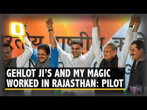 Ashok Gehlot to be New Rajasthan CM, Sachin Pilot His Deputy | The Quint