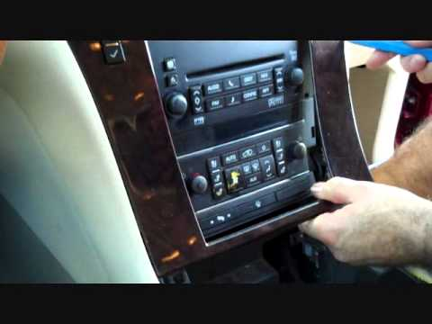 cadillac escalade stereo removal youtube cadillac escalade engine diagram